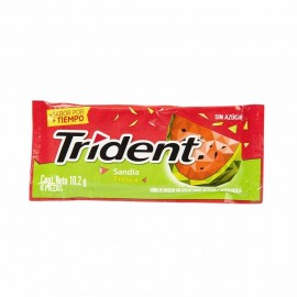 CHICLES TRIDENT MEDIANO